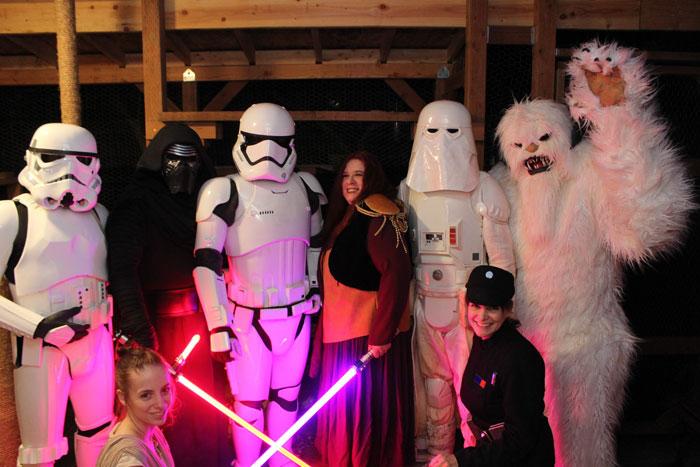 Cloud City Garrison Star Wars Cosplay Group Photo Shot
